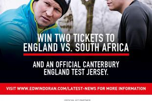 Edwin Doran Sports Tours in association with Canterbury of New Zealand