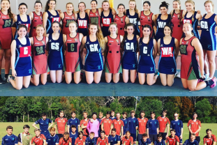 Edwin Doran On Tour with Burford School Football and Netball Teams to Australia