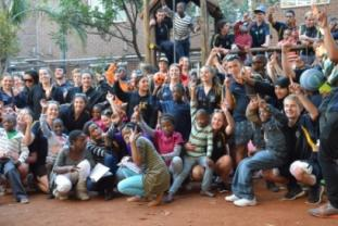 Orphanage Group Shot