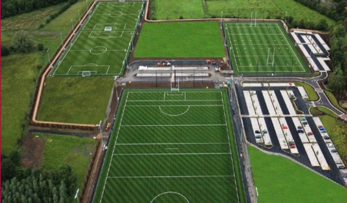 The 3G All Weather surface plays like natural grass and is designed for full contact