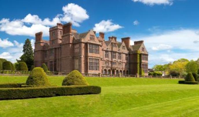 Condover Hall, home to the ISA Netball Festival