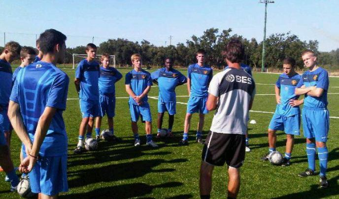 Players who travel to Portugal receive coaching from experienced professionals.