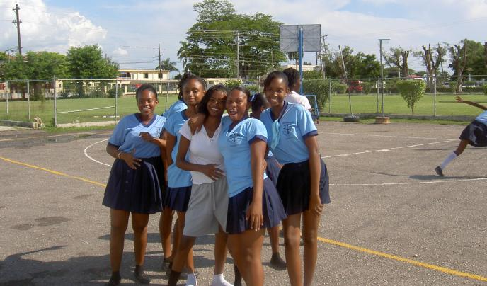 Mannings netball team, St Lucia