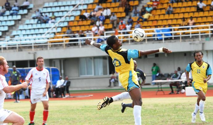 Interest in football has been growing in recent years. Test your team against Bajan Pride.