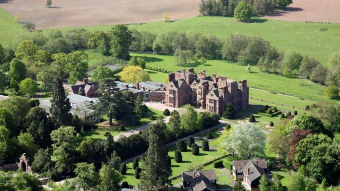 The beautiful Condover Hall residential activity centre in Shropshire