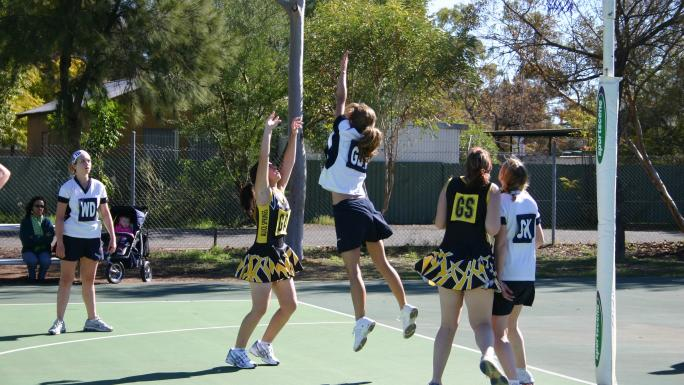 Playing to win: Roedean School from Brighton, in Alice Springs.