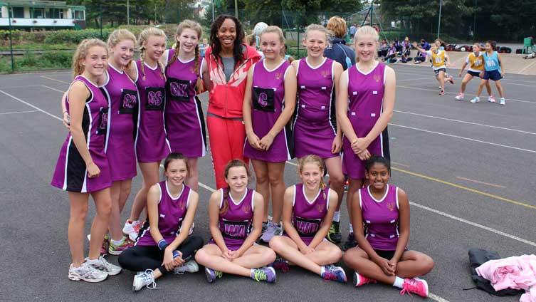 Bedford Girls' School with Pamela Cookey