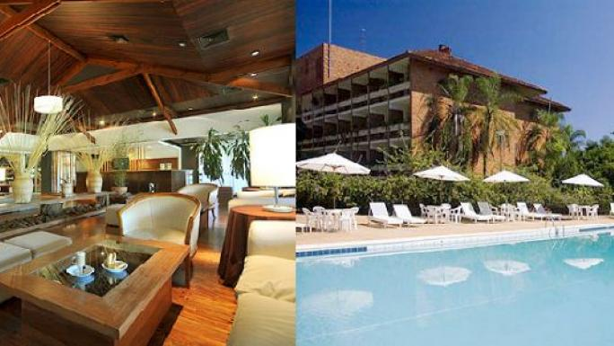 Relax in comfort at the Esturion Hotel and Lodge in Iguazu.