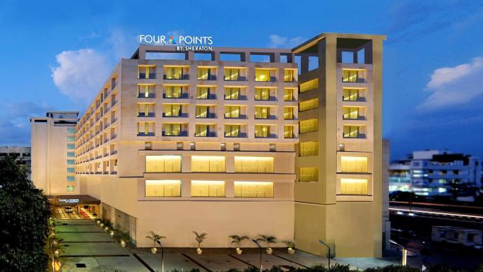 The Four Points Sheraton in Jaipur.
