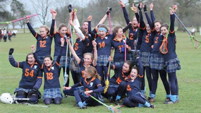 St Swithun's School lacrosse team