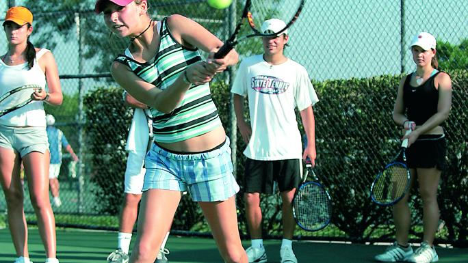 A tennis tour to Spain provides your players with an opportunity to practice their strokes.
