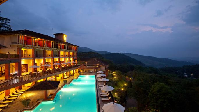 Amaya Hills Hotel is nestled in the picturesque hilltops of Kandy.