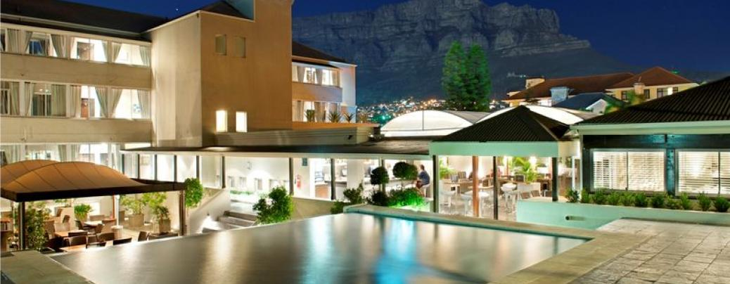 Chic boutique: The stunning Cape Milner is cradled beneath Table Mountain.