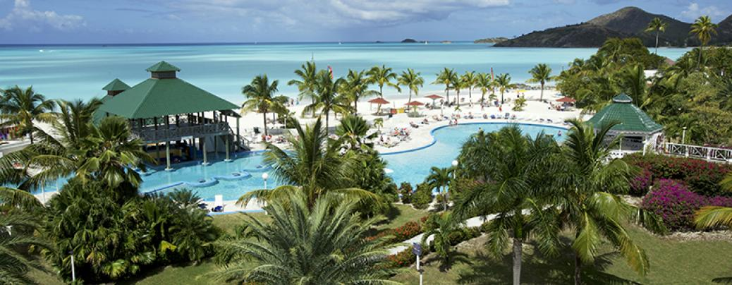 Jolly Beach Resort, Antigua.