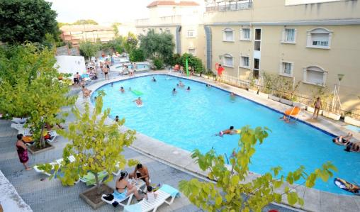Have a splash at Hotel Natura Park in Coma Ruga.