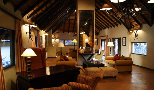 Mabula Game Lodge, in one of SA's finest game reserves.