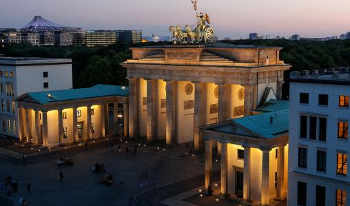 Tours take in the Brandenburg Gate, Berlin's most iconic landmark.