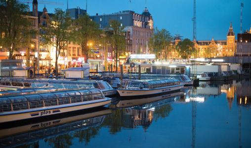 Explore the canals and museums of Amsterdam as part of your itinerary.
