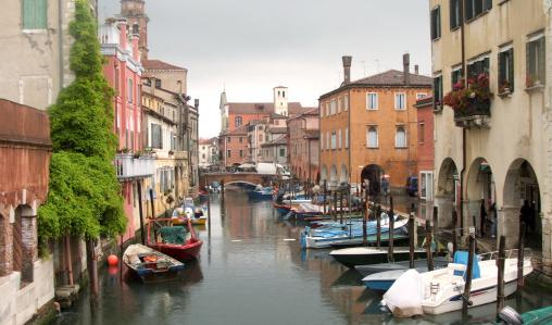 Chiogga is a mini Venice, with canals and narrow streets.