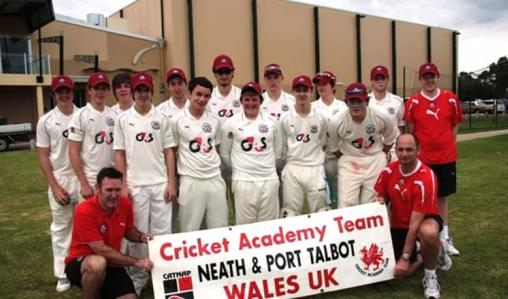 The Neath Port Talbot College in Wales - fully suited and booted.