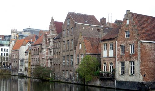 Charm and culture flow alongside Ghent's many rivers and canals.
