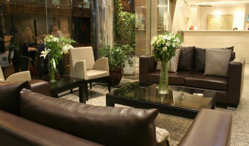 The stylish Hotel Concorde in the heart of Buenos Aires.