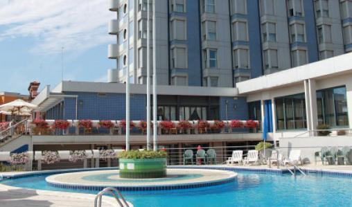 Boscolo Hotel Airone, Choggia, is minutes from the beach.