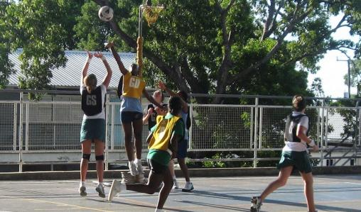Netball is excellent cardiovascular exercise and great for hand-to-eye co-ordination.