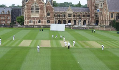 Cricket is played in many prestigious schools in the UK.