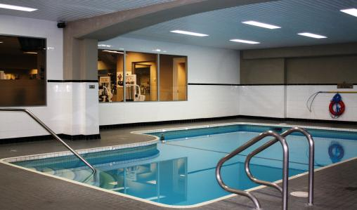 Relax in Harbour Towers' indoor pool, hot tub and sauna.