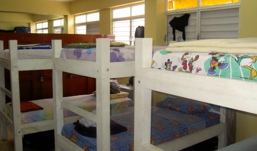 Dormitory accommodation can be arranged