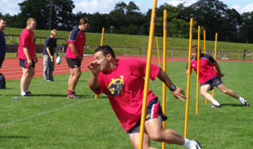 University of Limerick (UL), Munster Training Session