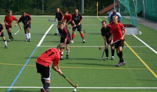 Play against local clubs on AstroTurf pitches.