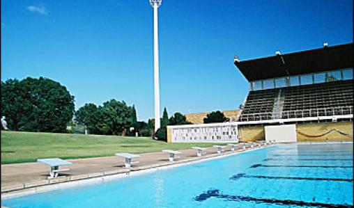 The outdoor pool at Pretoria's High Performance Centre is perfect for trainning.