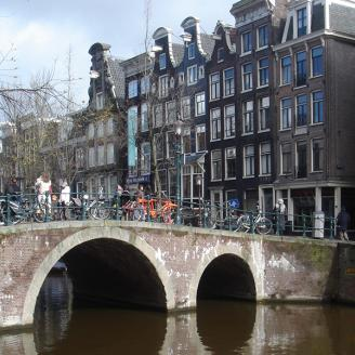 Explore the canals and museums of exciting Amsterdam.