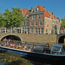 Enjoy a leisurely cruise through Amsterdam's canal system to see some of the main city sights.