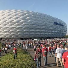 Take an hour-long guided tour in English of the home of Bayern Munich, including the players' tunnel.