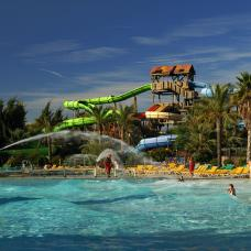 Attractions at this huge park include rollercoasters, water flumes, river rapids and boat rides.