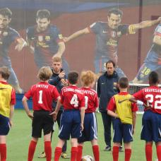 SC Toronto in a training session at the world-renowned FC Barcelona.