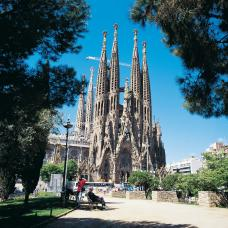 Main sights include the Old Town, the Ramblas, and Gaudi's amazing Cathedral, La Sagrada Familia.