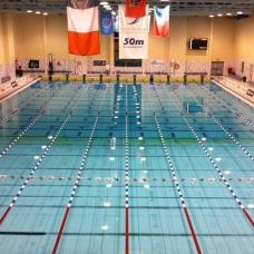 The National 50m Swimming Pool is Ireland's first Olympic sized pool.