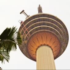 Enjoy the breathtaking views of KL from the world's seventh tallest communication tower.