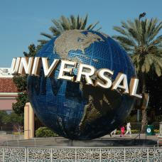 Picture of Universal Studios statue, West Coast USA.