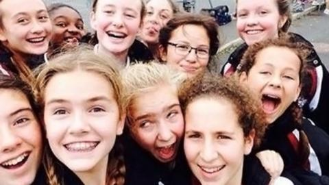City of London School for Girls at the GSA Netball Tournament