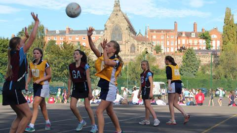 Shrewsbury High School played in the Year 9 tournament which took place within the beautiful school grounds.
