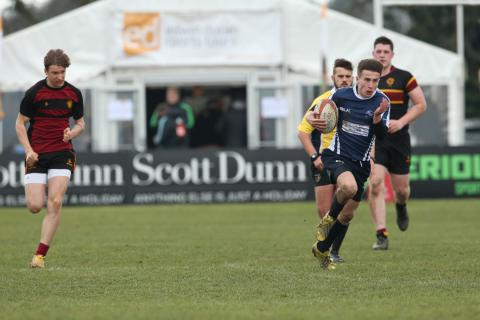 Edwin Doran Sports Tours official sponsors of the Rosslyn Park Sevens