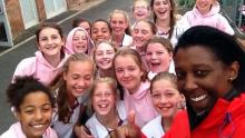 Bedford Girls' School was the most popular photo in the competition